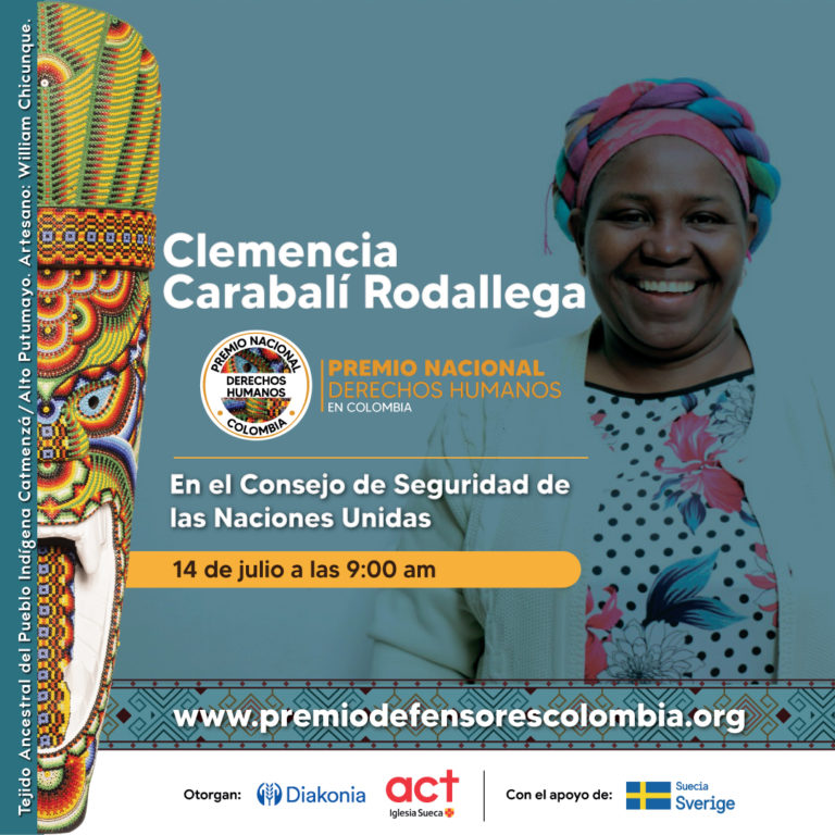 Premio Defensores Derechos Humanos